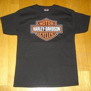 HARLEY-DAVIDSON NWT Youth Black T-Shirt Sz M 2016